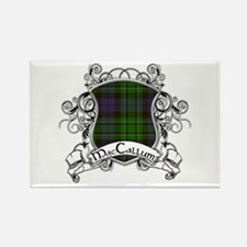 MacCallum Tartan Shield Rectangle Magnet