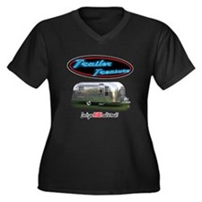 Trailer Treasure Vintage Plus Size T-Shirt
