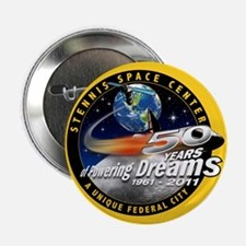 """Stennis Space Center 2.25"""" Button"""