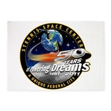 Stennis Space Center 5'x7'area Rug
