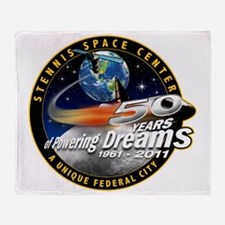 Stennis Space Center Throw Blanket