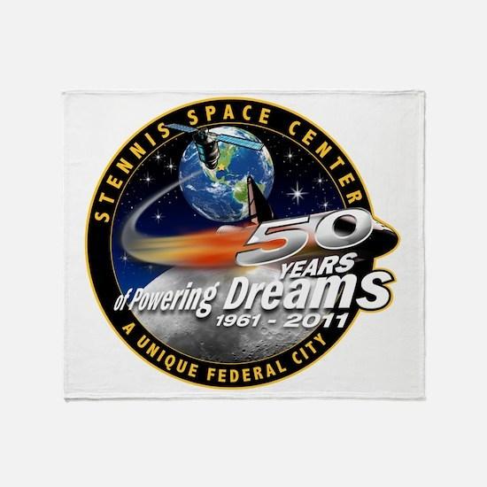 Stennis Space Center Throw Blanket