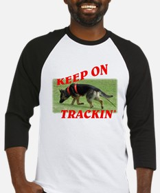 GSD tracking dog Baseball Jersey