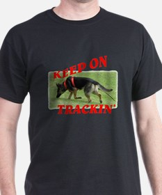 GSD tracking dog T-Shirt