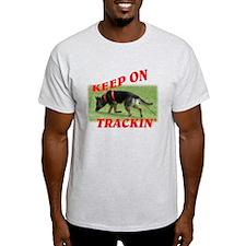 GSD tracking dog T-Shirt