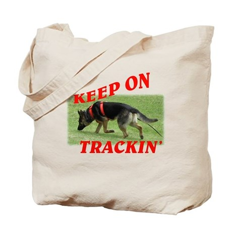 GSD tracking dog Tote Bag