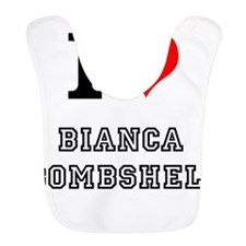 I Heart Bianca Bombshell Bib
