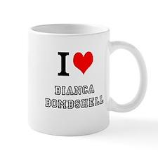 I Heart Bianca Bombshell Mug
