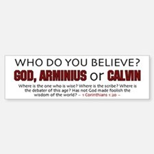 Who Do You Believe - Bumper Bumper Bumper Sticker