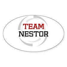Nestor Oval Decal