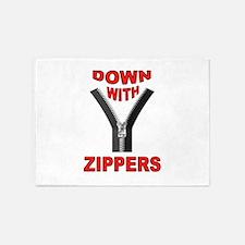 ZIPPERS 5'x7'Area Rug