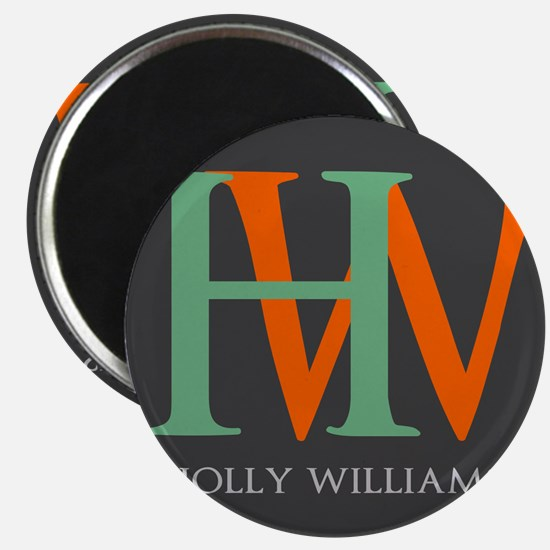 """Large Monogram Personalized 2.25"""" Magnet (10 pack)"""