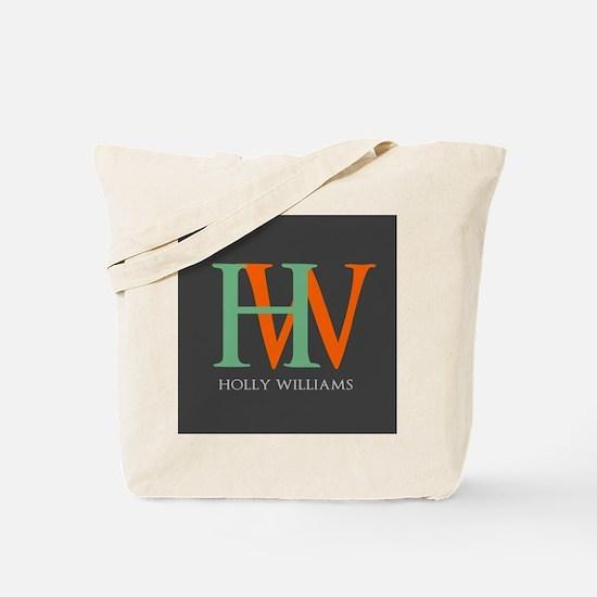 Large Monogram Personalized Tote Bag