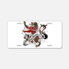 MacBean Tartan Lion Aluminum License Plate