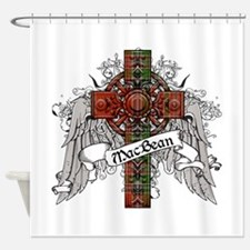 MacBean Tartan Cross Shower Curtain