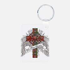 MacBean Tartan Cross Keychains