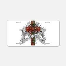 MacBean Tartan Cross Aluminum License Plate