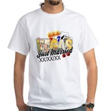 Vegas Just Married Shirt