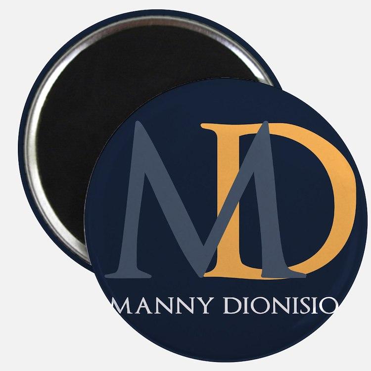 """Elegant Custom Monogram 2.25"""" Magnet (100 pack)"""