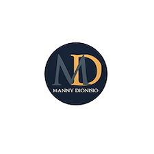 Elegant Custom Monogram Mini Button (100 pack)