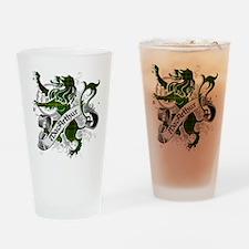 MacArthur Tartan Lion Drinking Glass