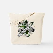 MacArthur Tartan Lion Tote Bag