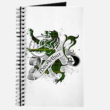 MacArthur Tartan Lion Journal