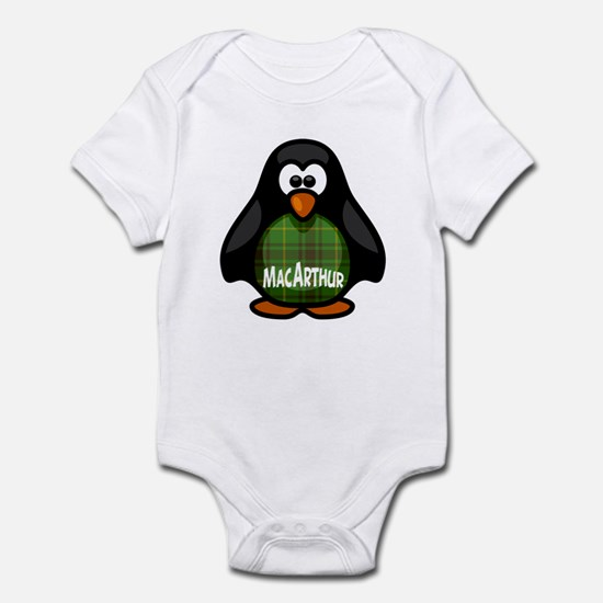 MacArthur Tartan Penguin Infant Bodysuit