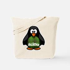MacArthur Tartan Penguin Tote Bag