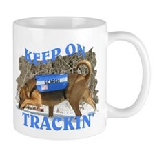 bloodhound tracking Mug