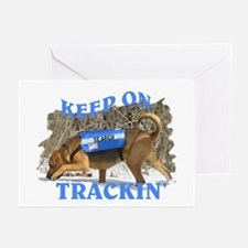 bloodhound tracking Greeting Cards (Pk of 10)