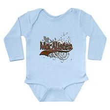 MacAlister Tartan Grun Long Sleeve Infant Bodysuit