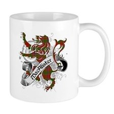 MacAlister Tartan Lion Small Mugs