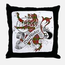 MacAlister Tartan Lion Throw Pillow
