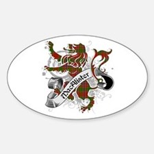 MacAlister Tartan Lion Decal