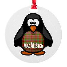 MacAlister Tartan Penguin Ornament