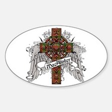 MacAlister Tartan Cross Decal