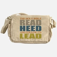 The Bible Messenger Bag