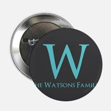 """Teal and Dark Gray Custom M 2.25"""" Button (10 pack)"""