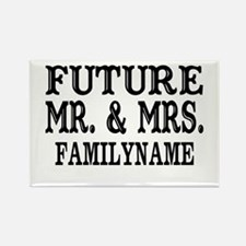 Future Mr. and Mrs. Pe Rectangle Magnet (100 pack)