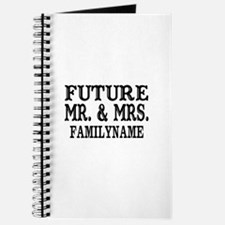 Future Mr. and Mrs. Personalized Journal