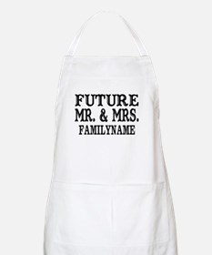 Future Mr. and Mrs. Personalized Apron