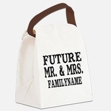 Future Mr. and Mrs. Personalized Canvas Lunch Bag