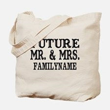 Future Mr. and Mrs. Personalized Tote Bag