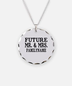 Future Mr. and Mrs. Personal Necklace