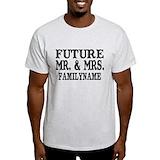Engagement Mens Light T-shirts