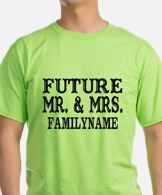 Future Mr. and Mrs. Personalized T-Shirt