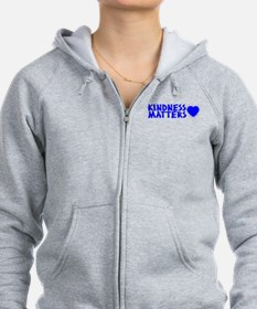 KINDNESS MATTERS (2-sided) Zip Hoodie