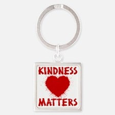 KINDNESS MATTERS Square Keychain