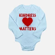 KINDNESS MATTERS Long Sleeve Infant Bodysuit